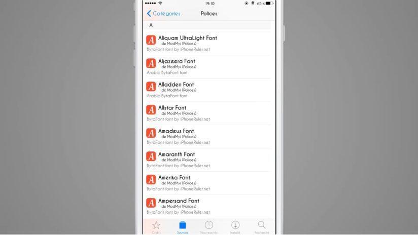 шрифты на iOS