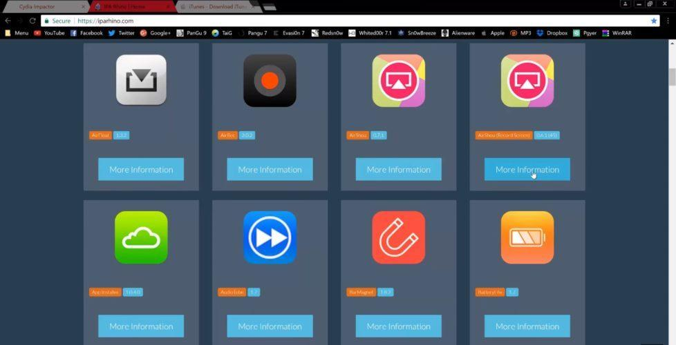 Как установить Cydia Impactor на Айфон