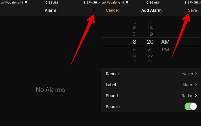 будильник срабатывает без звука на айфоне