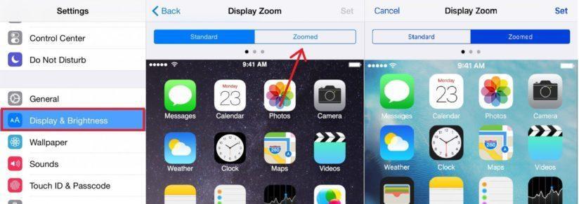 как на айфоне сделать поворот экрана
