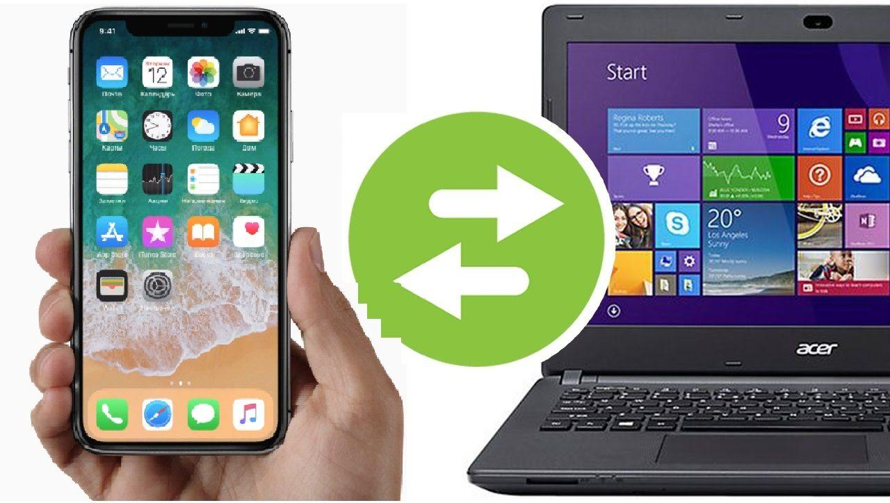 перенести с ipad на компьютер