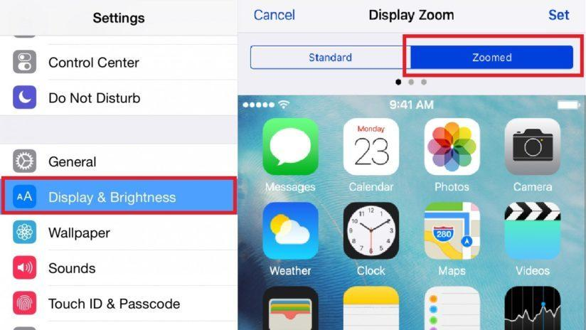 как убрать поворот экрана на айфоне