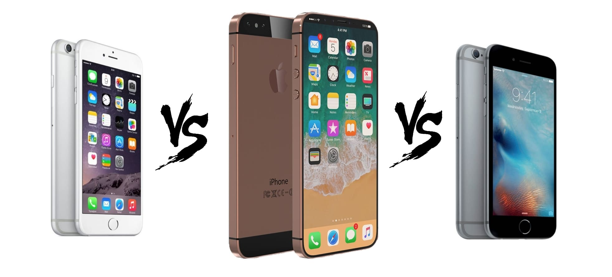 iPhone SE 2 vs iPhone 6 vs iPhone 6S