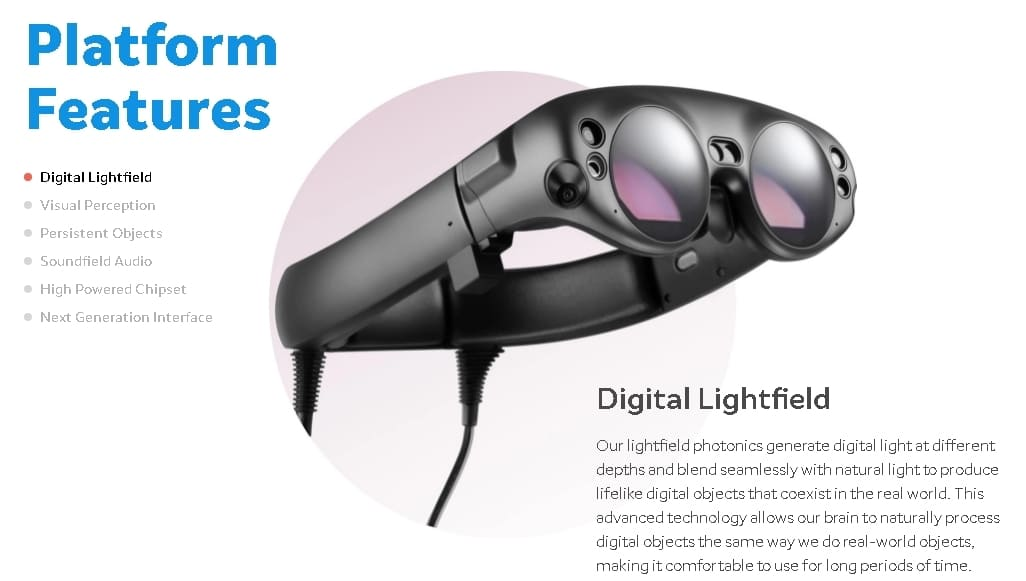 Патенты Apple VR