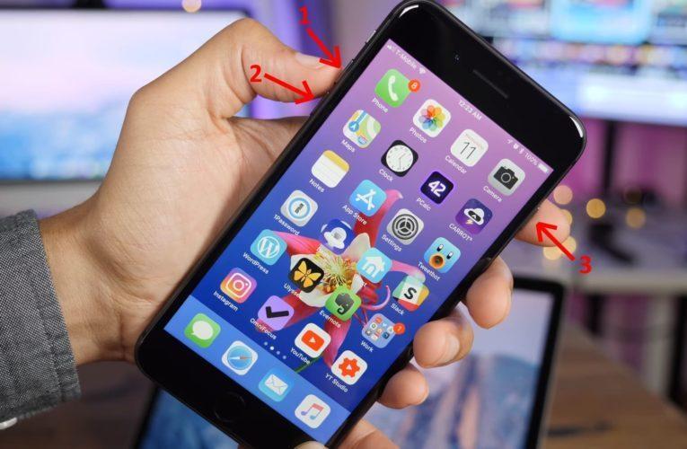 как перезагрузить iPad