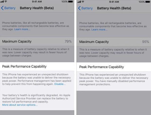 как проверить состояние батареи на айфоне