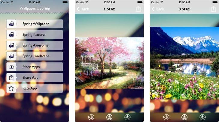 приложение обои на айфон