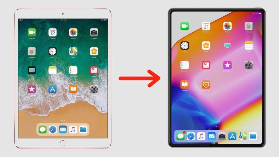 iPad X дизайн