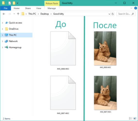 Как открыть файл HEIC на компьютере Windows
