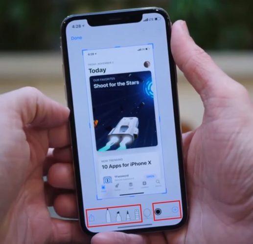 как сделать видео скриншот экрана на айфоне