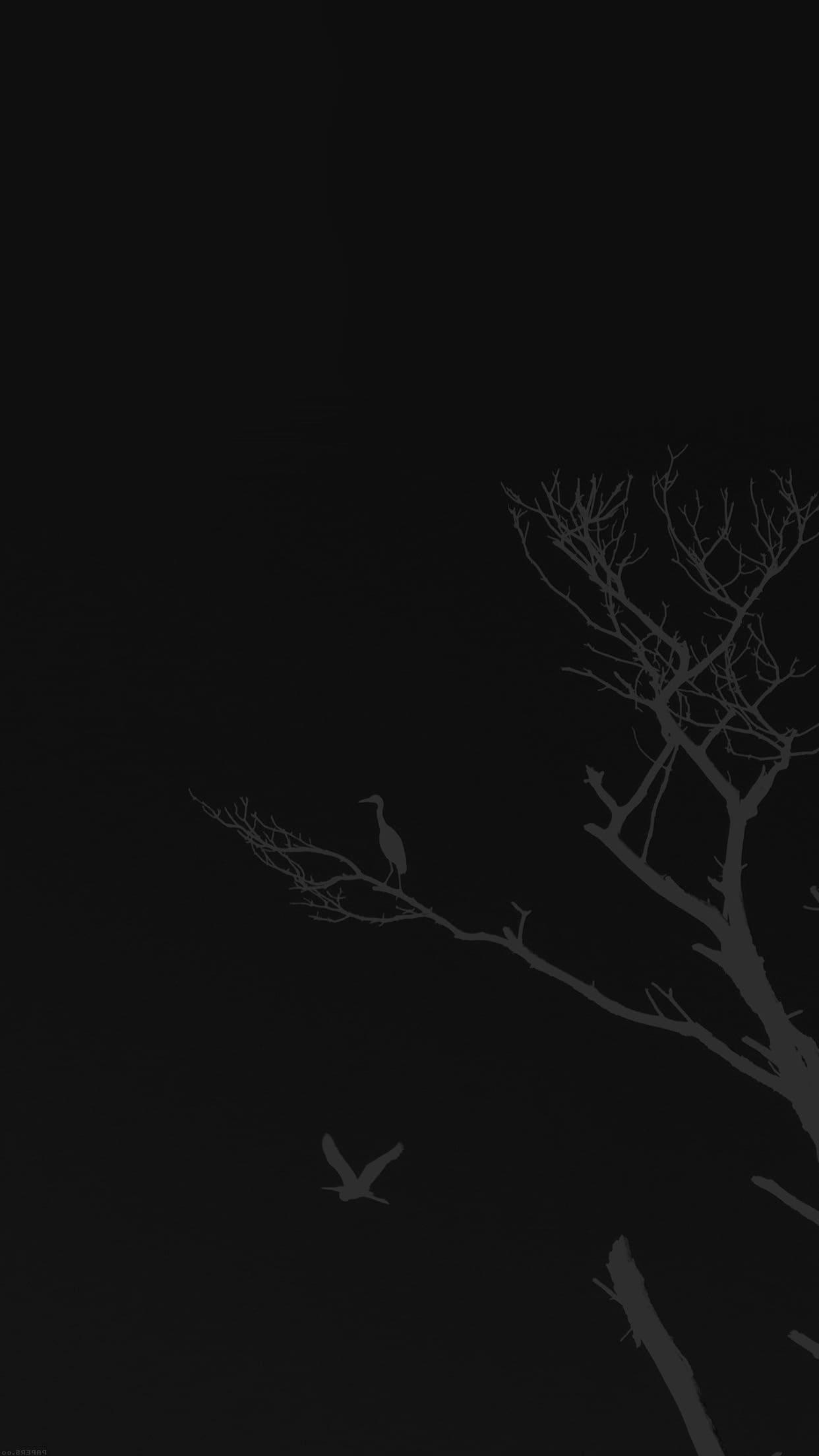темные аниме обои на телефон