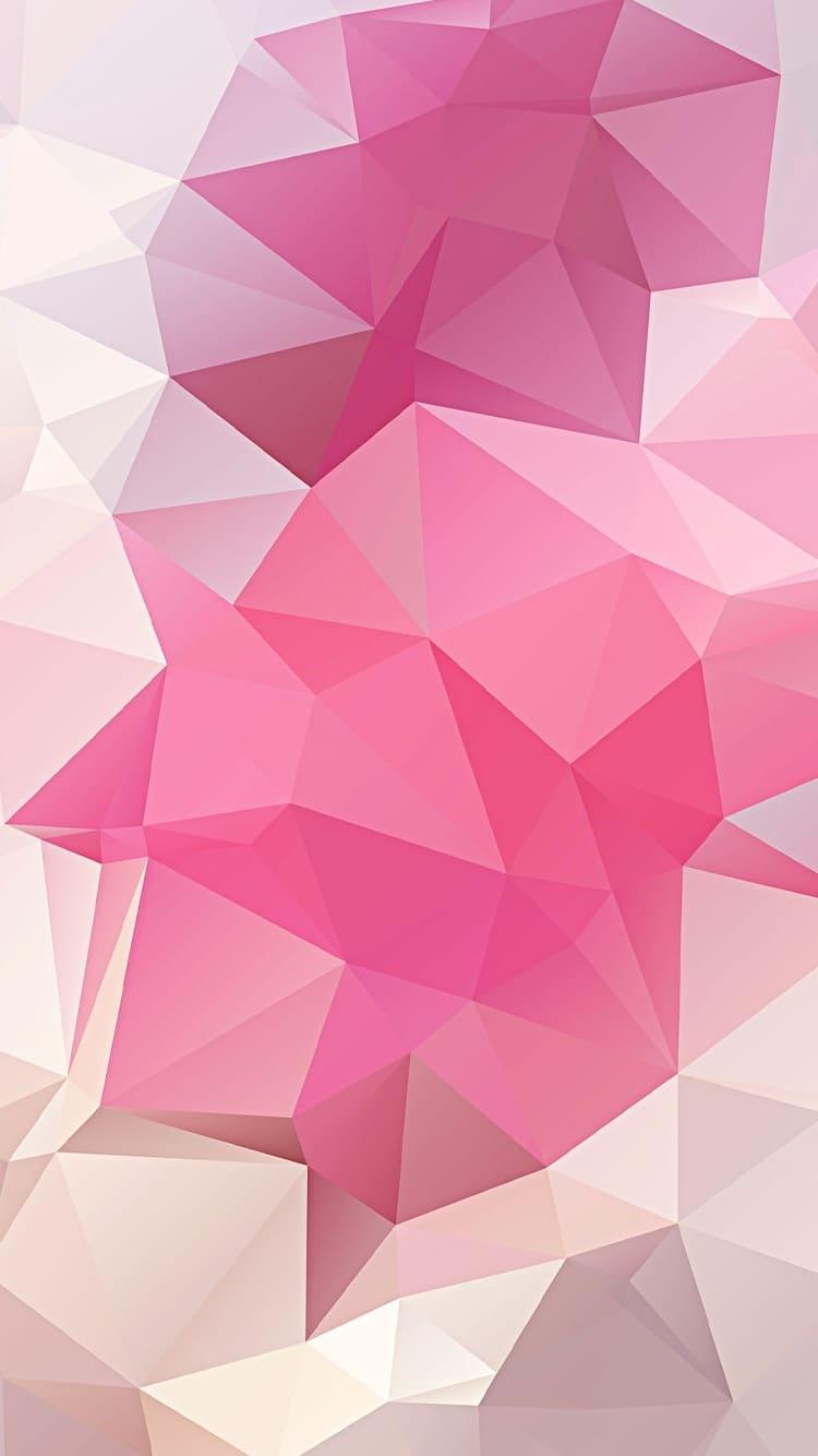розовые обои на айфон