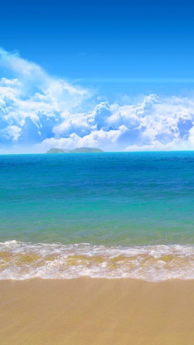 обои на айфон море океан пляж