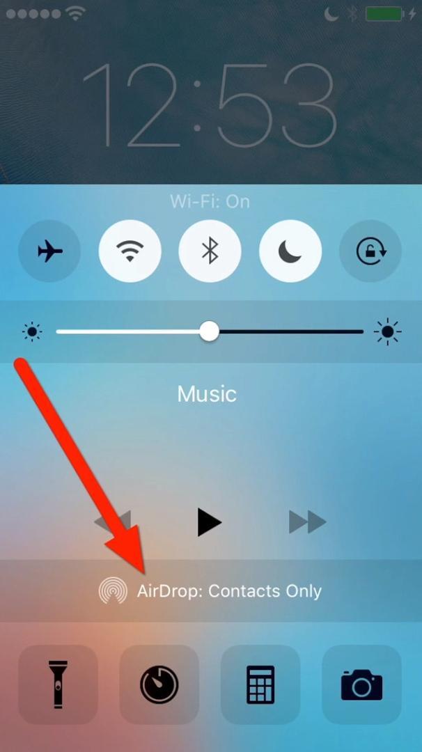 как включить airdrop на айфон