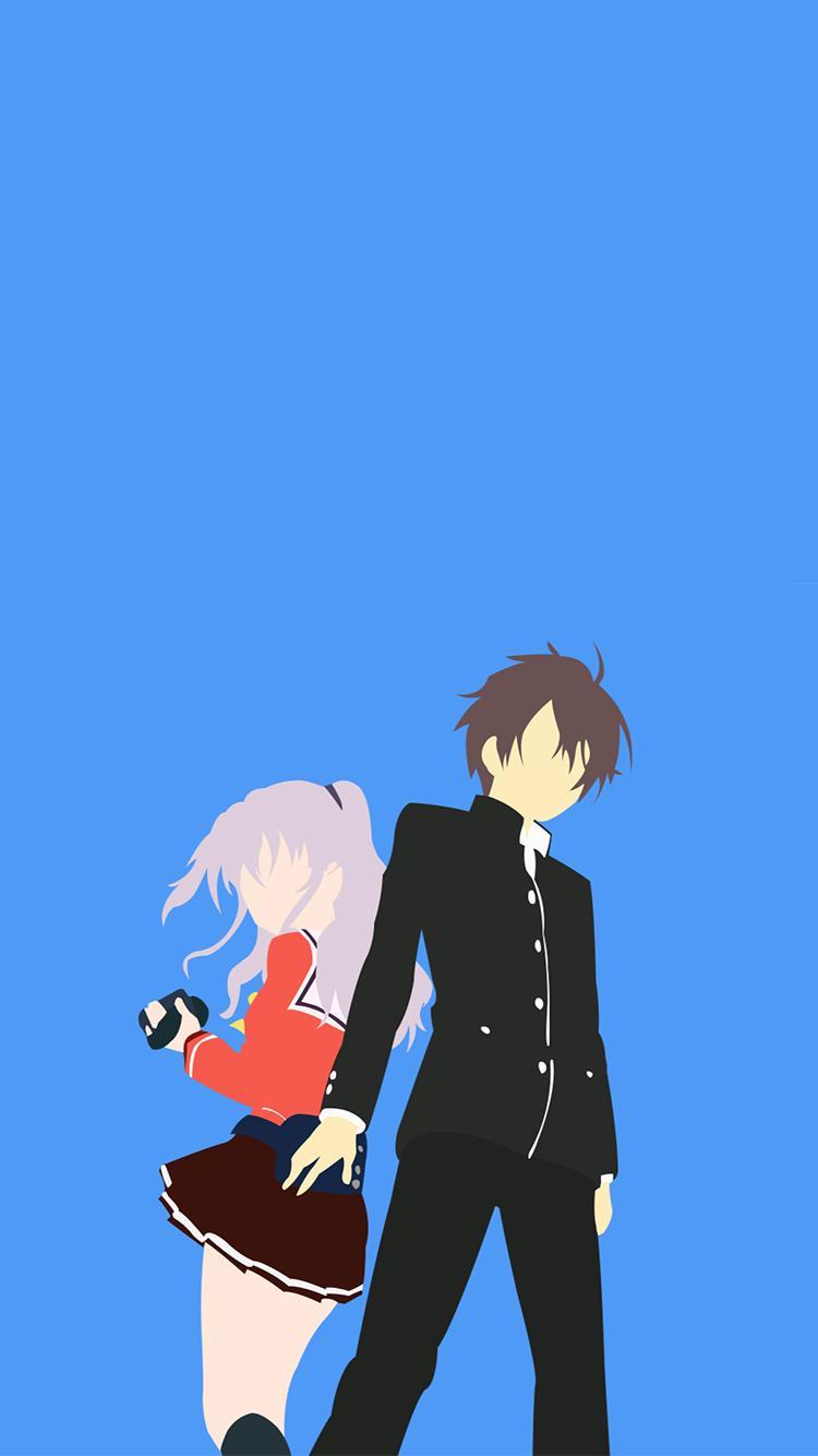 обои на телефон в стиле аниме