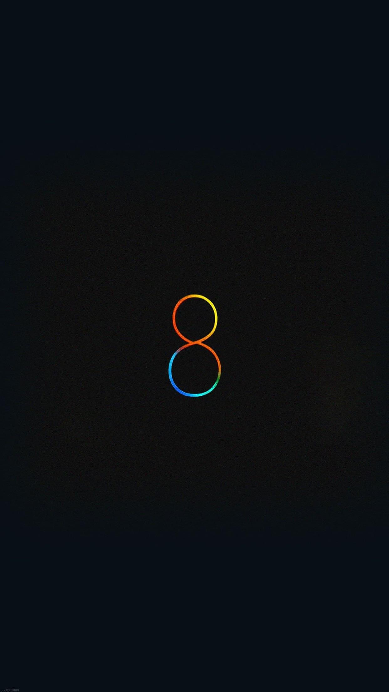 черный фон обои на телефон iphone 5s