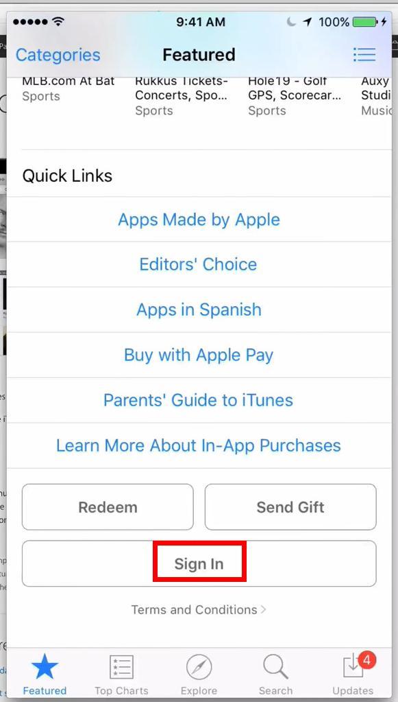 как зайти в app store