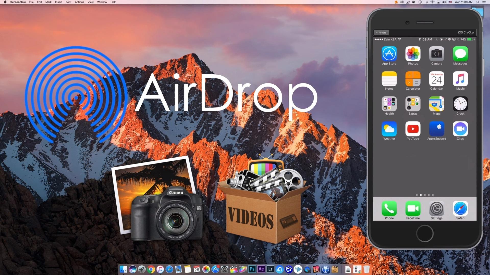Как включить AirDrop