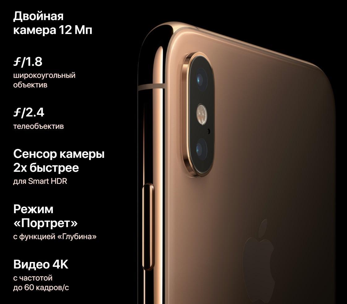 iPhone XS vs XS Max vs XR: Сравнение камер, сколько мегапикселей?