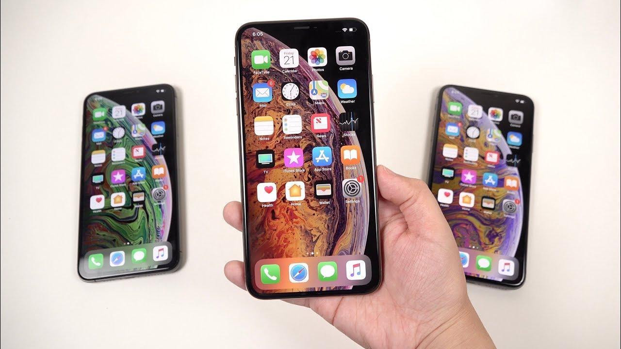 iPhone XS vs XS Max vs XR: размер и разрешение дисплея в дюймах