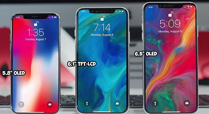 iPhone XS vs XS Max vs XR: Вес и размеры в сантиметрах