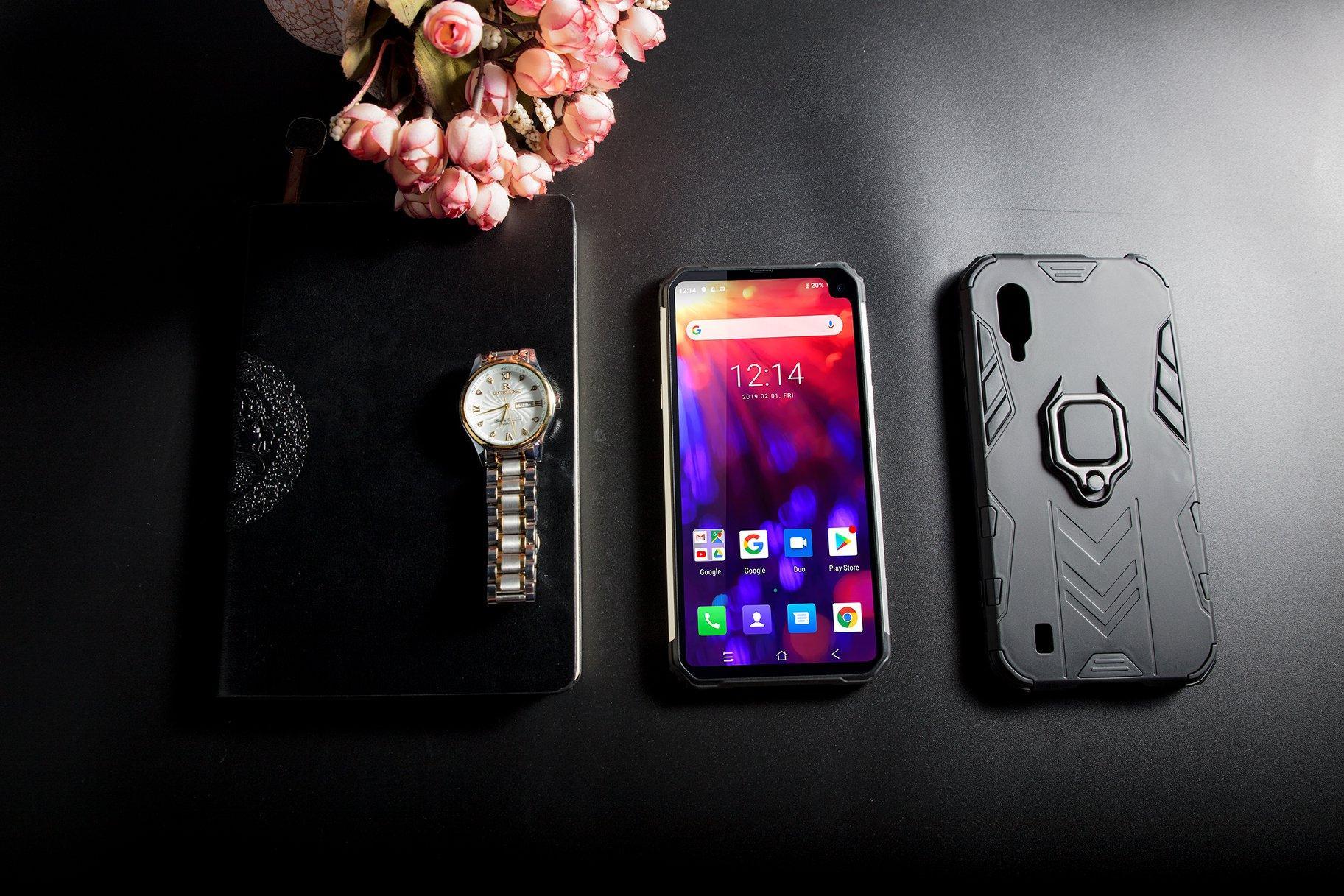 5580 мАч, влагозащита IP68, чип NFC и камера от Sony —  Blackview BV 6100
