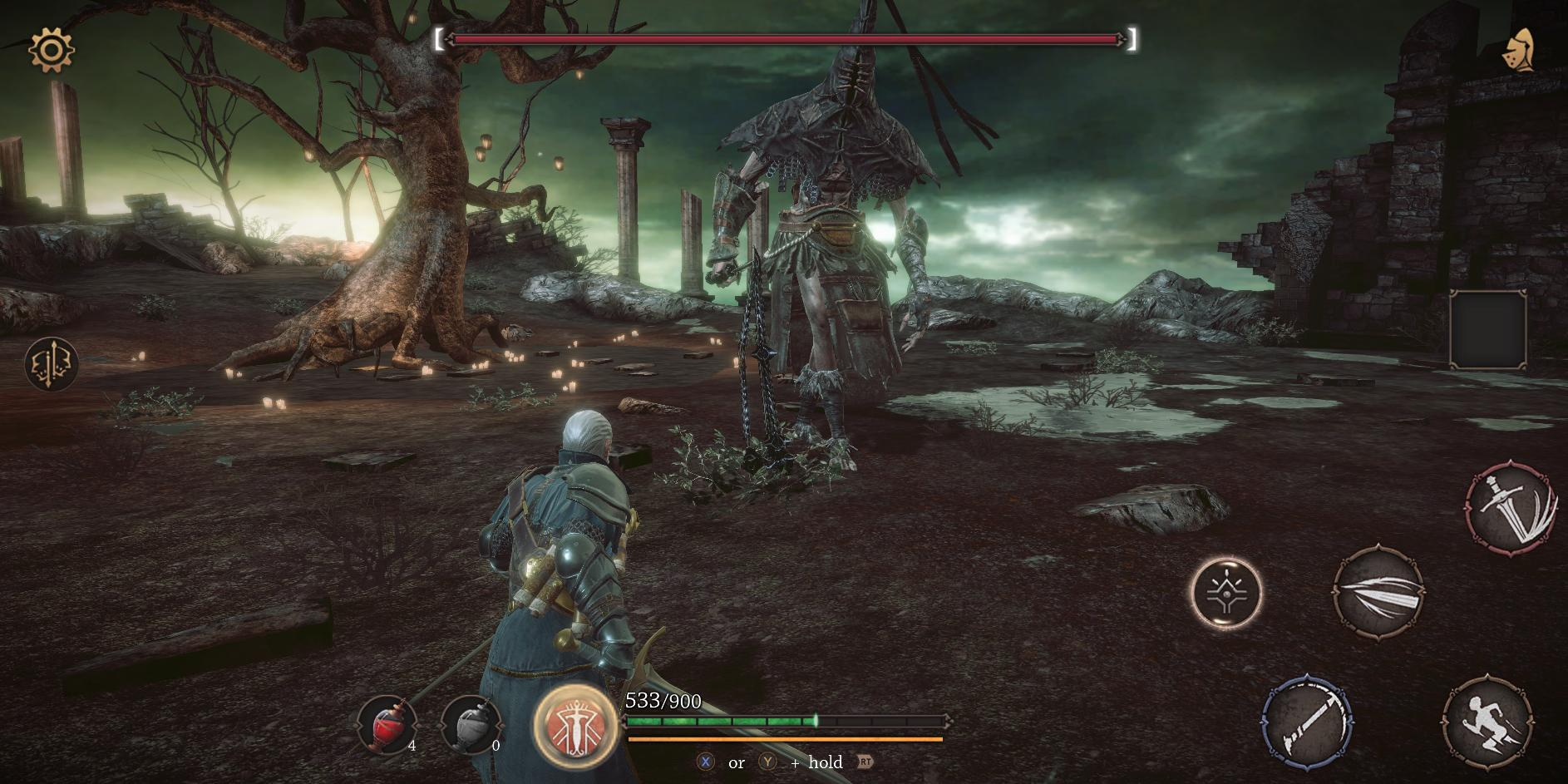 Новая Игра в Стиле Dark Souls (Andorid/iOS)