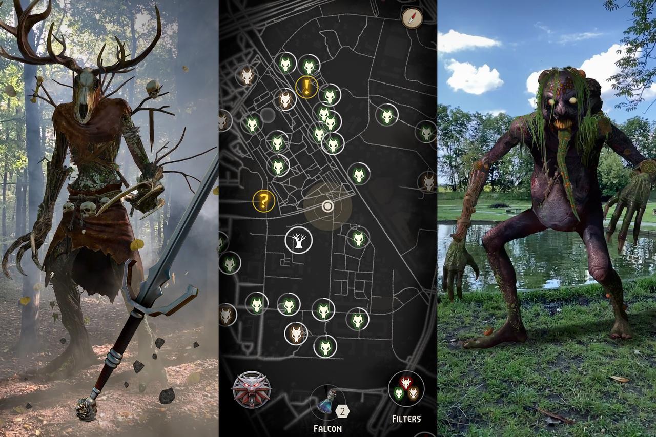 Анонсирована The Witcher: Monster Slayer — мобильная игра по «Ведьмаку» в духе Pokemon GO